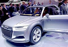 The Audi Crosslane Concept hints at a raft of new SUVs from the German automaker.