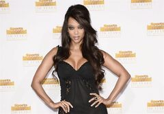 FILE - In this Jan. 14, 2014 file photo, model and television personality Tyra Banks arrives at the