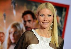 Actress Gwyneth Paltrow arrives at the world premiere of Marvel's