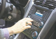 Ford's SYNC connects the car stereo and navigation system to a user's mobile device.