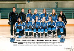 The River East Kodiaks began the Winnipeg Women's High School Hockey League season with 12 consecutive wins.