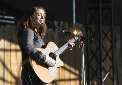 Ani DiFranco, who received the Winnipeg Folk Festival's Artistic Achievement Award in 2013, performs again at Folk Fest Saturday evening.
