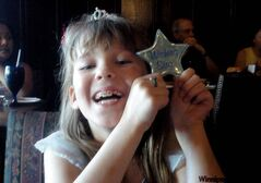 Maslen gets her wishing star.