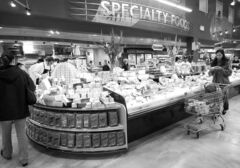 Whole Foods Market in West Vancouver specializes in natural and organic foods.