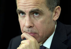 Outgoing Bank of Canada Governor Mark Carney