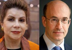 Economists Carmen Reinhart, left and Ken Rogoff. The Harvard economists stand accused of analytical errors in a study that supported government austerity measures.