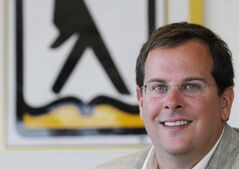 Yellow Pages CEO, Marc Tellier, pictured in Montreal, Monday August 25, 2008. THE CANADIAN PRESS/ Graham Hughes