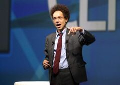 Malcolm Gladwell, keynote speaker at Centrallia, says being No. 1 isn't always the best place to be.