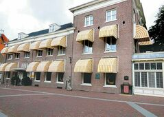 The hotel where German forces in the Netherlands surrendered to Canadian troops