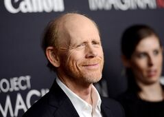 FILE - This Oct. 24, 2013 file photo shows director Ron Howard attends the global premiere of Canon's