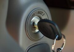 A key in the ignition switch of a 2005 Chevrolet Cobalt in Alexandria, Va. is pictured on April 1, 2014. THE CANADIAN PRESS/AP, Molly Riley