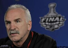 Blackhawks coach Joel Quenneville got immediate dividends by shifting his lines.