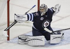 Ondrej Pavelec will be back in net against the Carolina Hurricanes Saturday at the MTS Centre.