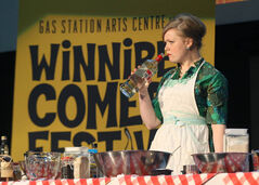 Jane Testar was part of the kickoff Tuesday morning at the Metropolitan Entertainment Centre announcing the lineup for the 12th annual Winnipeg Comedy Festival