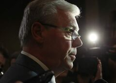 Premier Greg Selinger received an approval rating of 38 per cent in a recent online poll.