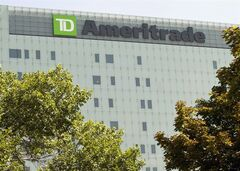 In this July 16, 2012 photo, TD Ameritrad's corporate headquarters stands in Omaha, Neb. THE CANADIAN PRESS/AP, Nati Harnik