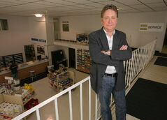 Bob Mazer of Mazergroup overlooks the showroom of his Brandon dealership. He says the importance of farming is becoming more widely known.