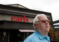 Activist Paul Ash is pleased Earls is removing the word 'albino' from its beer and wings. The move will be completed by April 24.