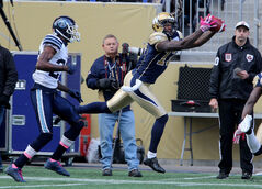 Look on the bright side, Bombers fans: Receiver Mike Sims-Walker, who busted out for eight catches and 137 yards Saturday, is among a talented corps signed for next season.