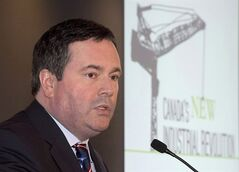 Employment Minister Jason Kenney speaks in Toronto on January 23, 2014. THE CANADIAN PRESS/Frank Gunn