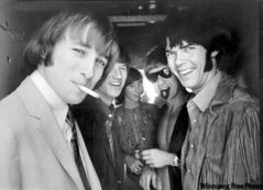 Neil Young, seen here (right) with the band Buffalo Springfield in 1966, is part of our music experience.