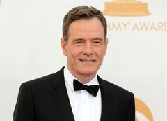 FILE - This Sept. 22, 2013 file photo shows Bryan Cranston at the 65th Primetime Emmy Awards at Nokia Theatre in Los Angeles. Cranston will portray President Lyndon B. Johnson in his Broadway debut in