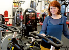 Lauren Parsons, organizer of 24-Hour Heart Cycle, is hoping to make young people aware of heart disease and stroke.