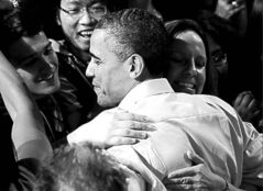 Barack Obama hopes to woo voters.