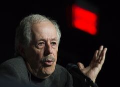 Filmmaker Denys Arcand speaks during a news conference to promote his latest movie
