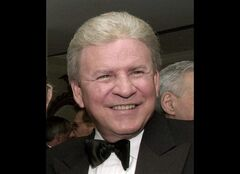 FILE - In this Oct. 28, 2000 file photo, Bobby Rydell attends a dinner given by the National Italian American Federation at the Washington Hilton in Washington. Rydell has undergone a liver and kidney transplant in Philadelphia. The 70-year-old singer of hits including
