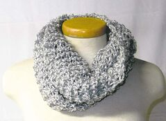 Scarf from the Platinum line by Priska Zinn.