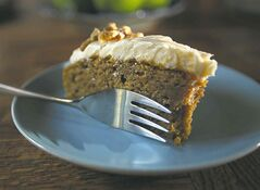 Had enough of pumpkin pie? Try this pumpkin cake.