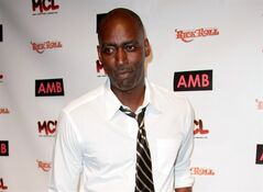 FILE - In this Oct. 6, 2012 file photo, actor Michael Jace attends WordTheatre presents Storytales at Ford Amphitheatre in Los Angeles. The Los Angeles Fire Department released Thursday June 5, 2014 shows a 911 call from April Jace's father on the day of her shooting death in which he said the actor told him that he had shot his wife. The 51-year-old actor was charged with murder in the May 19, shooting at their home. (Photo by Richard Shotwell/Invision/AP, File)