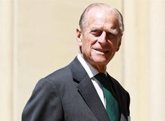 Prince Philip, the Duke of Edinburgh, arrives at the Cathedral Church of St. James in Toronto, Sunday, July 4, 2010. Prince Philip is planning a lightning trip to Toronto this spring. The Duke of Edinburgh will travel to the city on April 27 to present a new regimental colour to the Third Battalion of the Royal Canadian Regiment. THE CANADIAN PRESS/Darren Calabrese