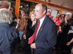 NDP incumbent Drew Caldwell won his fourth term in Brandon East Tuesday night.