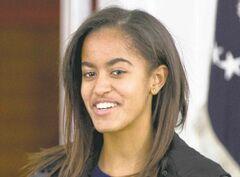 Malia Obama is working in Hollywood this summer.