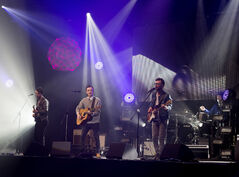 The indie rock band Paper Lions perform at the 2013 East Coast Music Awards.