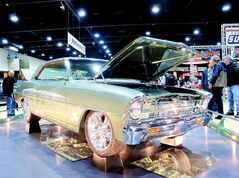 Owned by Jim and Judy Lippert from Green, Kansas, this 1967 Chevrolet Nova was one of the many stunning vehicles on display last weekend at Piston Ring's 39th annual World of Wheels car show.