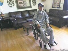 Zach Harper waited 75 years to live in a house with running water. He died a week after his family home at St. Theresa Point First Nation was  retrofitted to include running water, a kitchen sink and a proper bathroom.