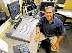 Barry Shainbaum's struggle with mental illness led him to broadcasting and the launch of his radio show on Faith FM seven years ago.