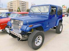 This spectacular custom Jeep YJ, owned by Harry Kettler, has been a mainstay in the Manitoba cruising scene for several years.