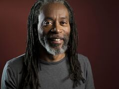 Musician Bobby McFerrin poses for a portrait in New York on May 6, 2013. THE CANADIAN PRESS/AP, Scott Gries/Invision