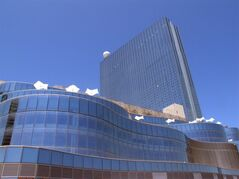 FILE - In this May 30, 2014, file photo, the Revel Casino Hotel in Atlantic City, N.J. is shown. Atlantic City's Revel Casino Hotel will shut down in September 2014, after failing to find a buyer in bankruptcy court, company officials announced Tuesday, Aug. 12, 2014. (AP Photo/Wayne Parry, File)