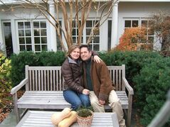 This 2010 photo provided by Julie Rosen shows Julie Rosen and Ira Fingles together in Saint Michaels, M.D. The couple lives together in Germantown, PA, with Julie's child from a previous relationship and their own child. She calls him her partner, and he uses the term