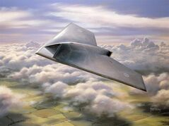 FILE- In this undated artist's rendering provided by BAE Systems, Taranis aircraft is shown. A new United Nations draft report posted online this week objects to the use of weapons systems like the Taranis that can attack targets without any human input. The report for the U.N. Human Rights Commission deals with legal and philosophical issues involved in giving robots lethal powers over humans, echoing countless science-fiction novels and films. (AP Photo/BAE Systems) UNITED KINGDOM OUT; NO SALES; NO ARCHIVE