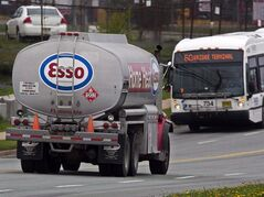 An Imperial Oil Esso heating fuel truck is seen in Dartmouth, N.S. on May 17, 2012. THE CANADIAN PRESS/Andrew Vaughan