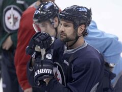 Defenceman Mark Stuart is one of six Jets who become unrestricted free agents this summer.
