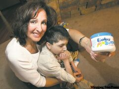 Majda Ficko developed her cream to help son Demitri.