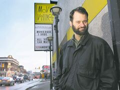 Movie  Village clerk James Borsa has seen an increase in business.