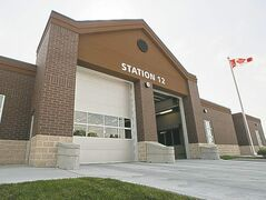 New fire-paramedic Station 12 sits on Shindico Realty land.